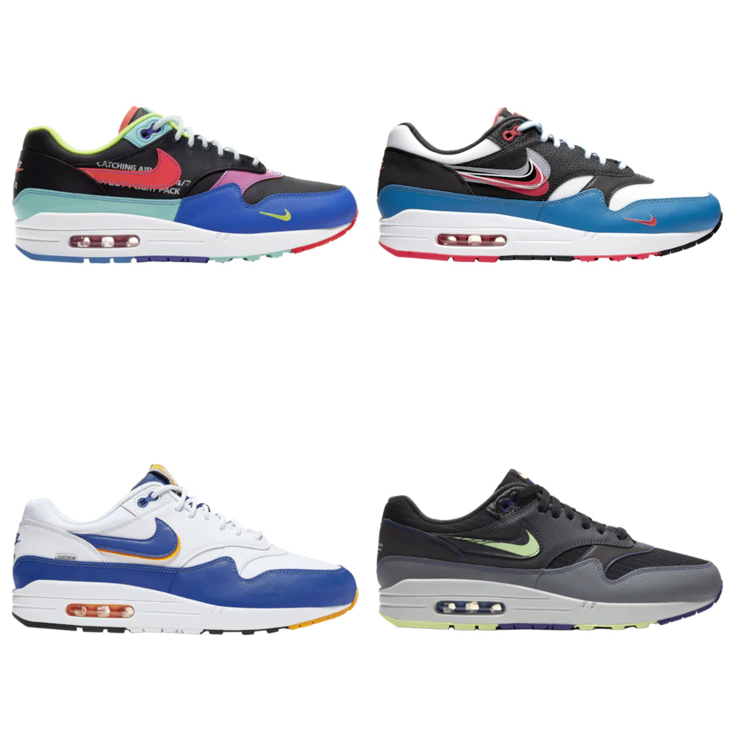 Merecer cable Camarada  Nike Air Max 1 Colorways | The HypeLess