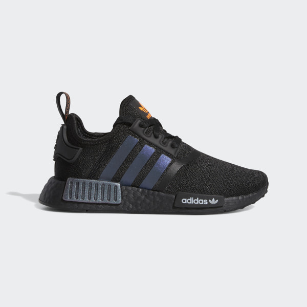 Adidas Nmd R1 Core Black Solar Orange Footwear White The Hypeless