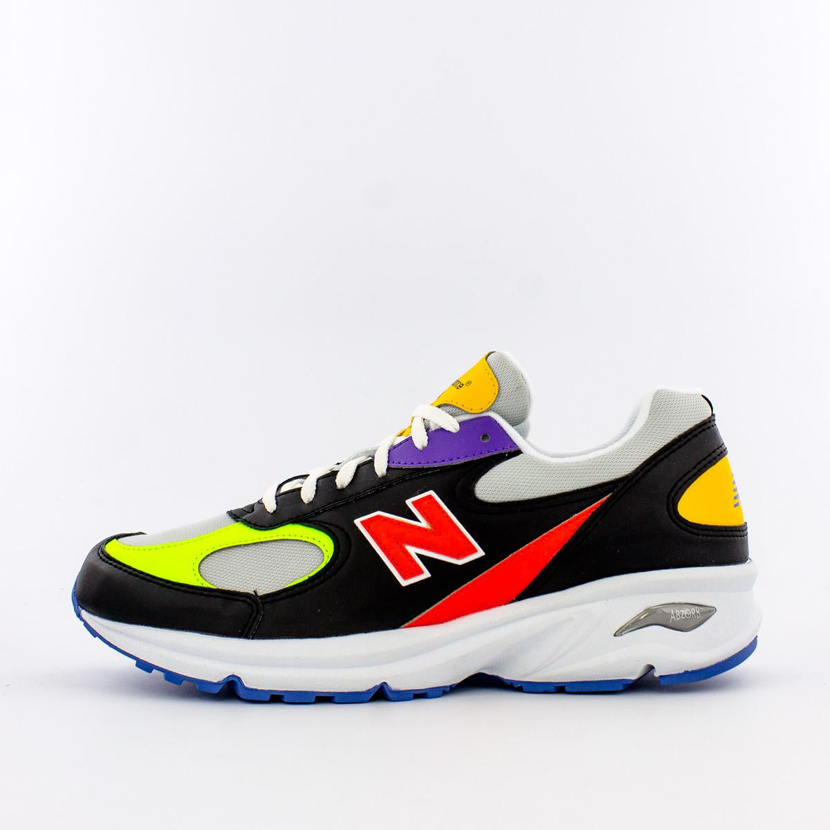 New Balance 498 - Yellow/Black-White